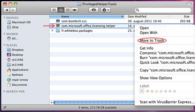 How to Uninstall Microsoft Office 2011 (Mac) - IThelp @ UiB