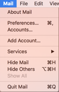 Mac OS X: Setting up an account in Mail - IThelp @ UiB